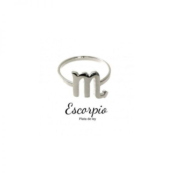 anillo horóscopo escorpio