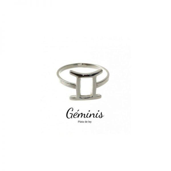 anillo horóscopo géminis