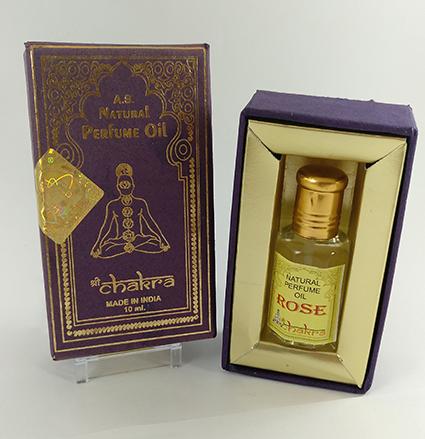 Perfume aceite de rosa