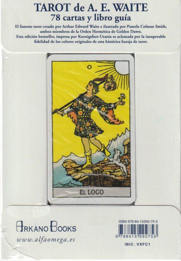 Tarot A.E. Waite back