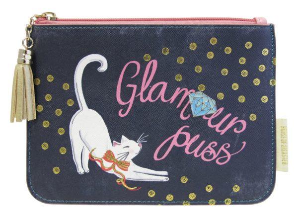 Cartera de gato con glamour de recuerdo