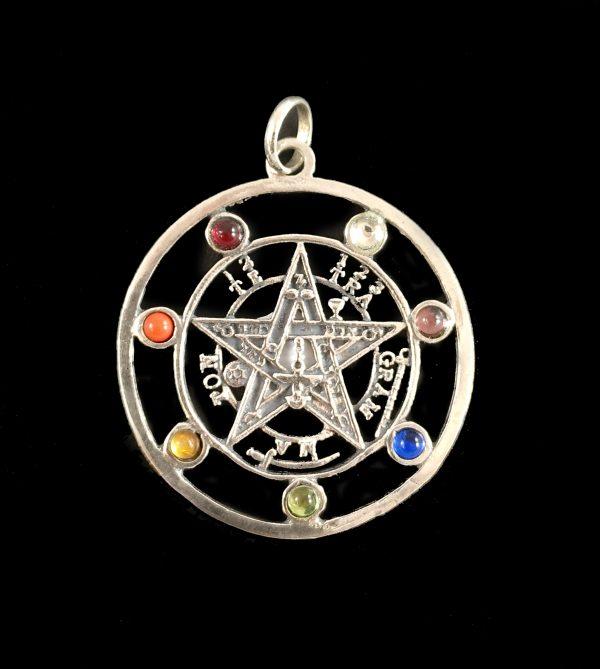 Colgante Tetragramaton Chakras copia