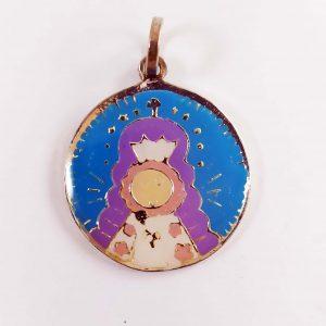 Colgante Virgencita del Rocio