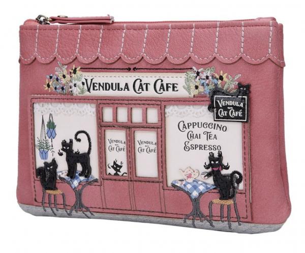 Monedero con Cremallera Vendula Cat Café