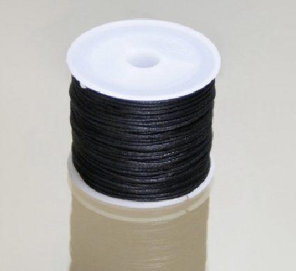 cordon algodon encerado negro 12mm 92m e1607332394879